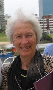 Barbara Starfield in Montevideo, November 2010